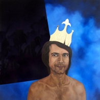 Cyrille - oil on canvas - 130 x 130 - 2010