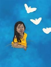 Haley - oil on canvas - 130 x 97 - 2011