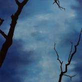 """Yggdrasil - l'arbre monde"" - 90 x 90 - 2009"